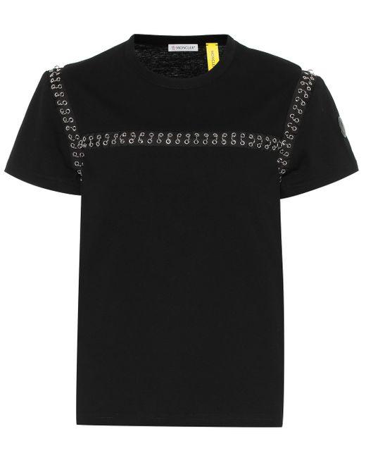 Camiseta 6 MONCLER NOIR KEI NINOMIYA Moncler Genius de color Black
