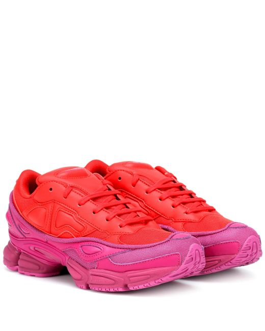 Adidas By Raf Simons Red Rs Ozweego Sneakers