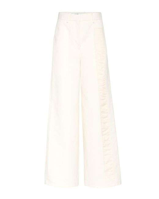 Off-White c/o Virgil Abloh - White Exclusive To Mytheresa.com – Tomboy Trousers - Lyst