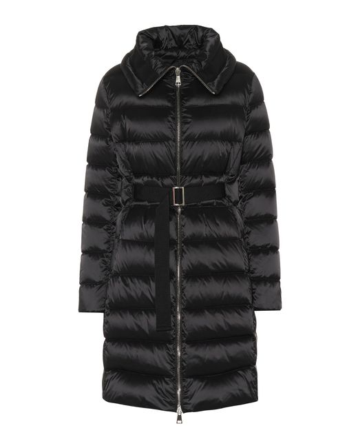 Moncler Black Bergeronette Quilted Down Coat