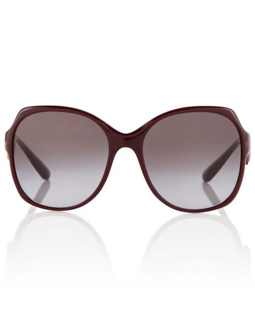 Dolce & Gabbana Red Acetate Sunglasses