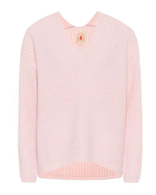 Jersey de cachemir Jardin Des Orangers de color Pink