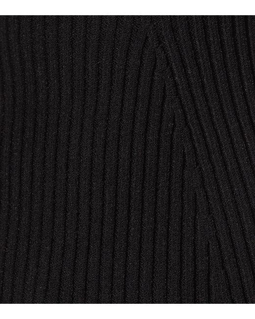 Top bustier Lucie Khaite en coloris Black