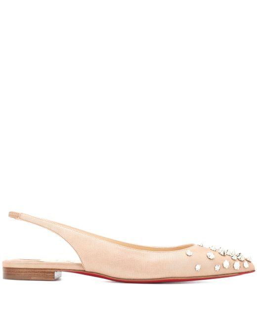 a8280bca4f9 Women's Pink Drama Sling Suede Ballet Flats