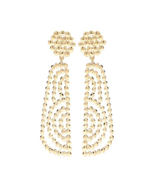 Chloé Metallic Valeria Drop Earrings