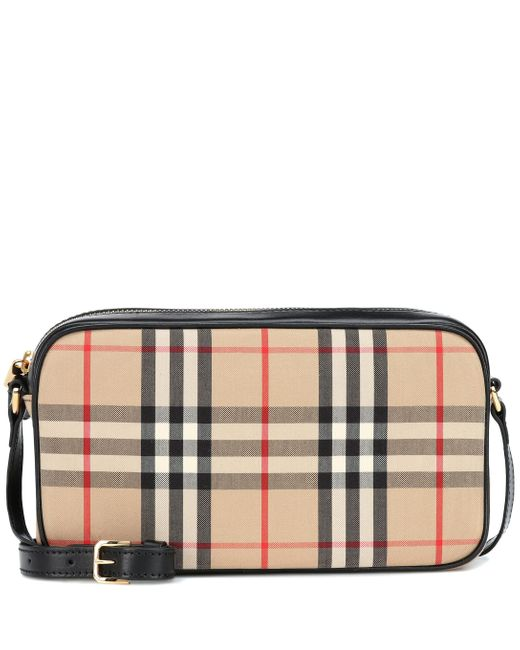 Burberry Natural Vintage Check Shoulder Bag
