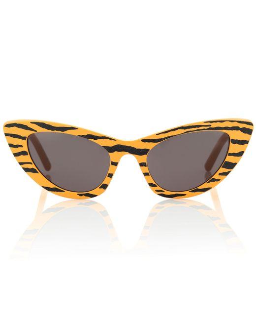Saint Laurent Yellow New Wave Sl 213 Sunglasses