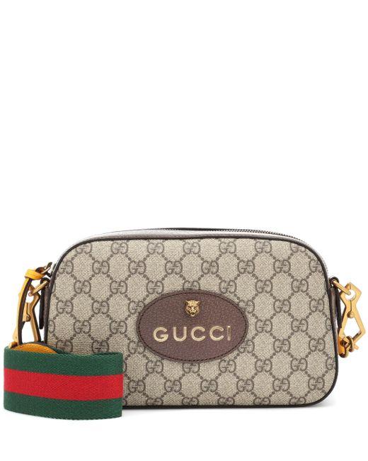 Gucci Multicolor GG Supreme Crossbody Bag