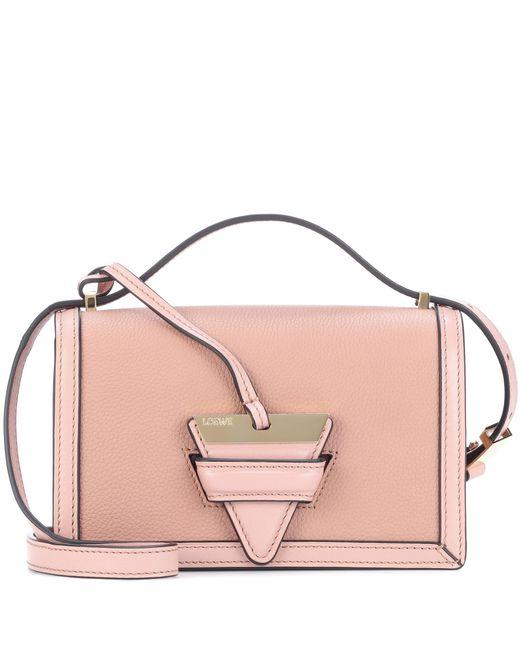 Loewe - Pink Barcelona Small Leather Shoulder Bag - Lyst