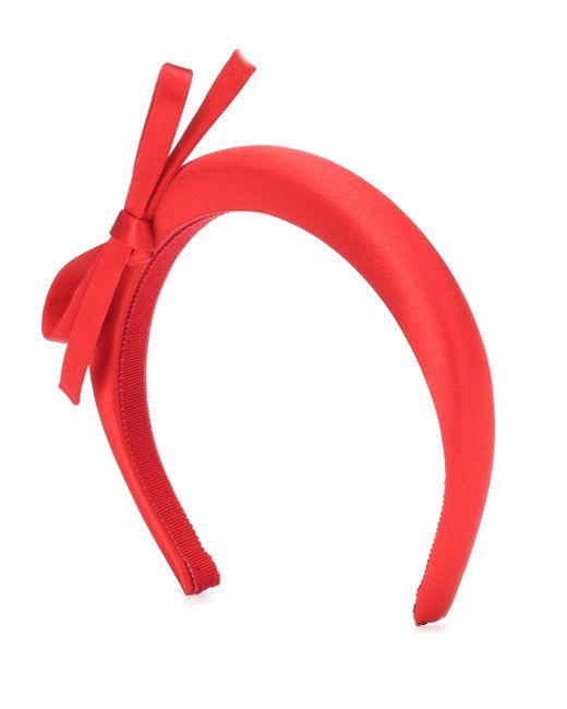 Prada Red Haarreif aus Satin