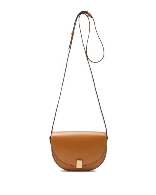 Victoria Beckham - Brown Nano Half Moon Box Shoulder Bag - Lyst