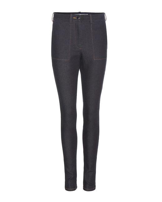 Victoria Beckham - Blue Slim Legging Jeans - Lyst