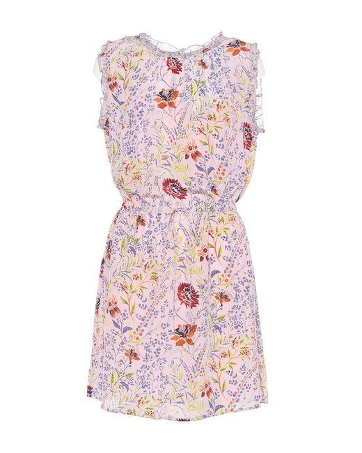 Velvet - Pink Raelynn Printed Sleeveless Dress - Lyst