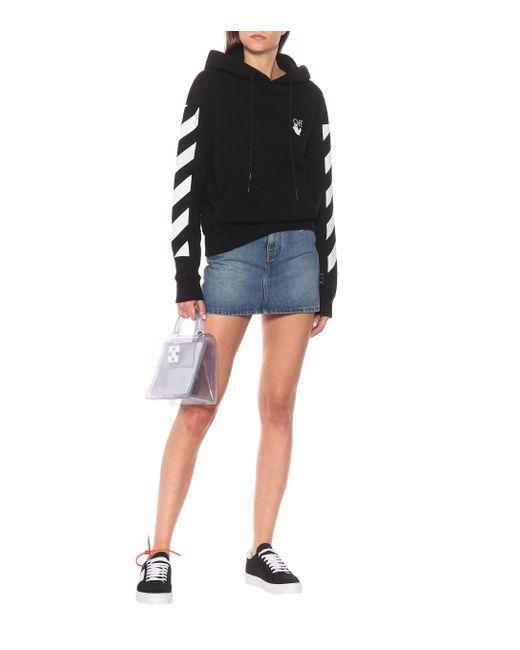 Sweat-shirt Agreement à capuche en coton à logo Off-White c/o Virgil Abloh en coloris Black