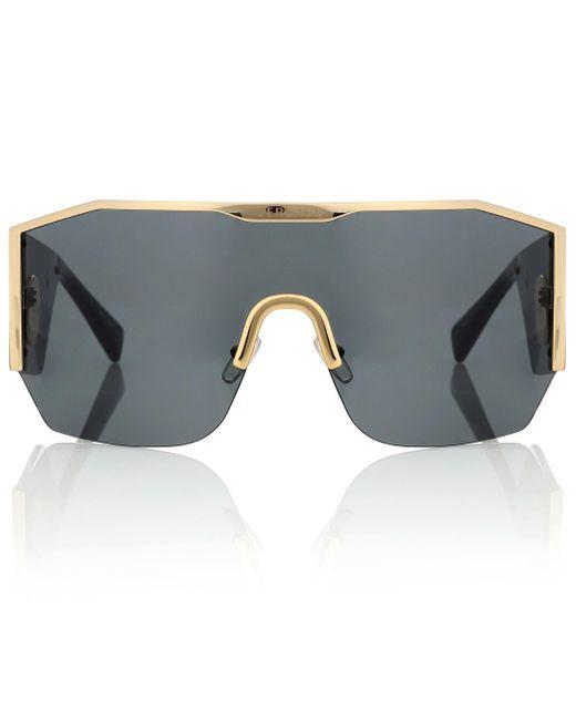 Versace Black Medusa Halo Sunglasses