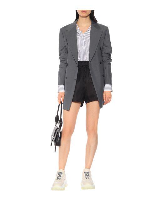 Prada Black Nylon Shorts