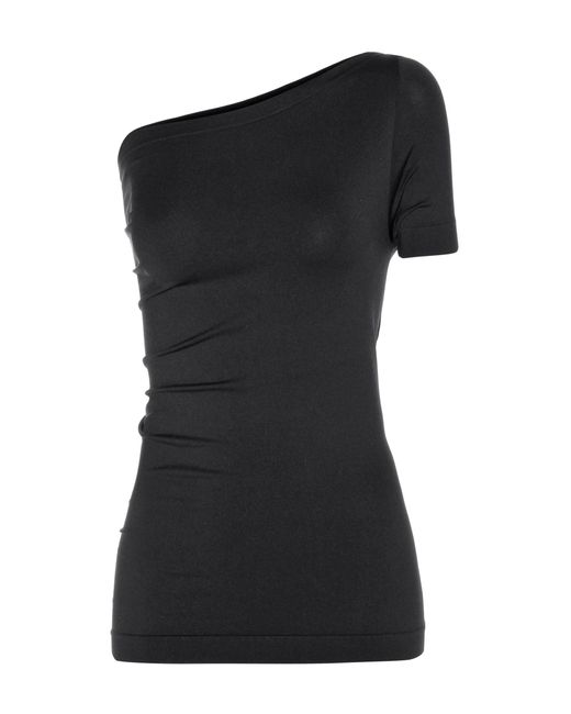 Helmut Lang - Black Asymmetric Top - Lyst