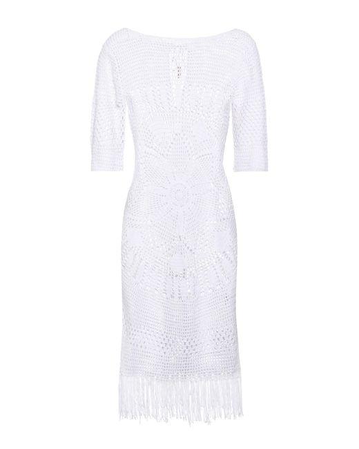 Melissa Odabash - White Melissa Knitted Cotton Dress - Lyst