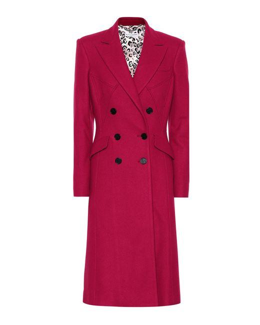 Altuzarra - Purple Elvin Wool-blend Coat - Lyst