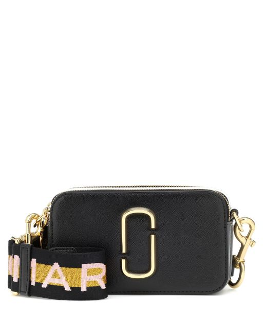 CAMERA BAG THE SNAPSHOT SMALL di Marc Jacobs in Black