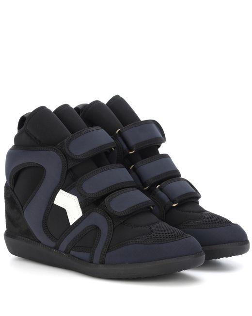Isabel Marant - Black Buckee High-top Sneakers - Lyst