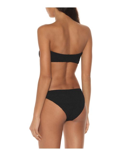 Bikini Gloria Hunza G de color Black