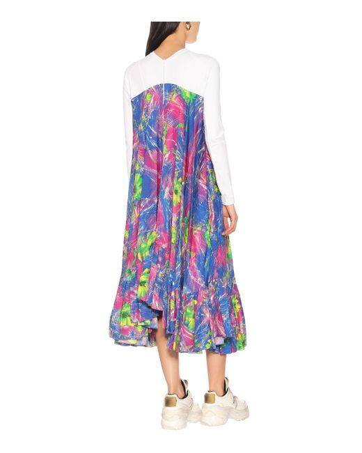 Robe imprimée MARINE SERRE en coloris Multicolor