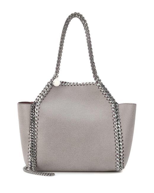 eb2c17bd11 Stella McCartney Reversible Falabella Tote Bag in Gray - Save 19% - Lyst