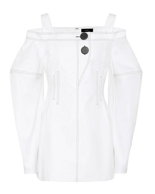 Ellery - White Off-the-shoulder Cotton Top - Lyst