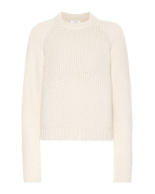 Chloé - Multicolor Wool And Cashmere Sweater - Lyst
