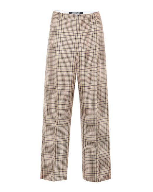 Jacquemus Green Hose Le Pantalon Santon