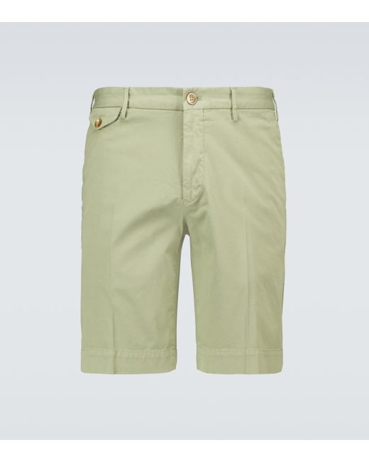 Incotex Shorts Royal Batavia High Comfort in Green für Herren