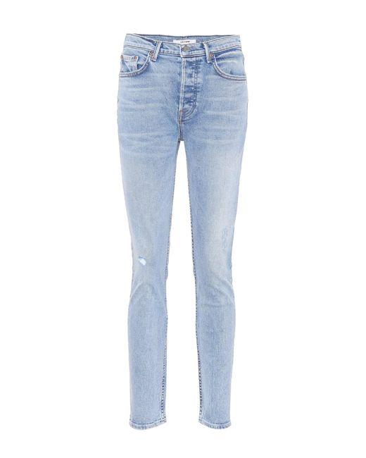 GRLFRND - Blue Skinny Jeans Karolina - Lyst