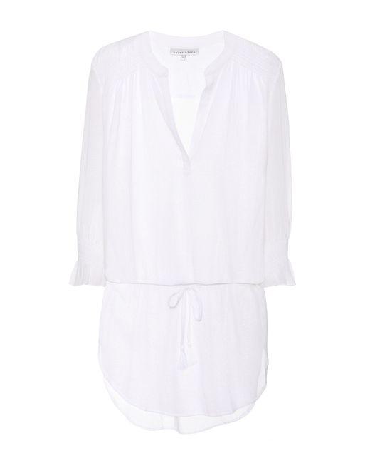 Heidi Klein - White Seychelles Cotton Minidress - Lyst