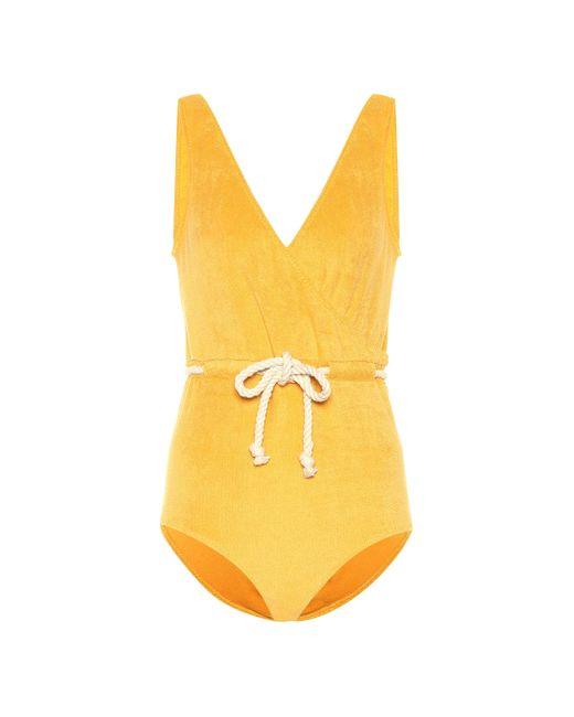 Maillot de bain Yasmin Lisa Marie Fernandez en coloris Yellow