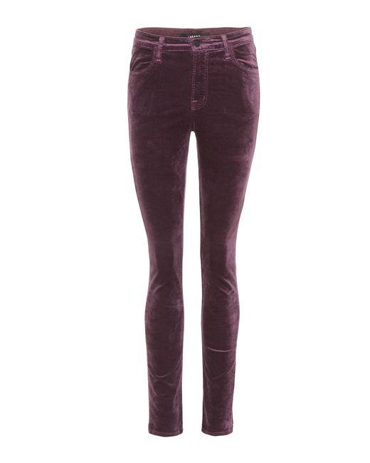 J Brand | Purple Maria High-rise Skinny Jeans | Lyst