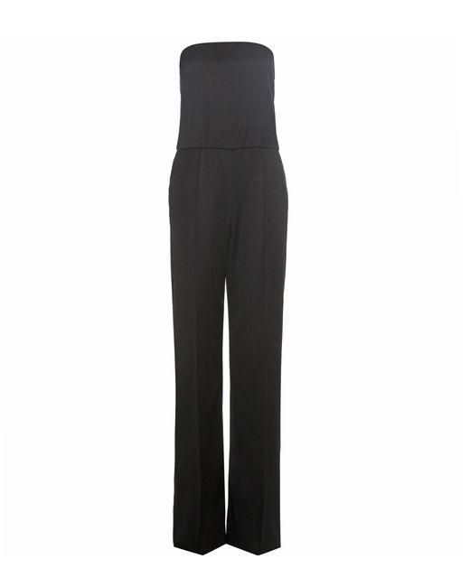 Stella McCartney - Black Malorie Wool Jumpsuit - Lyst