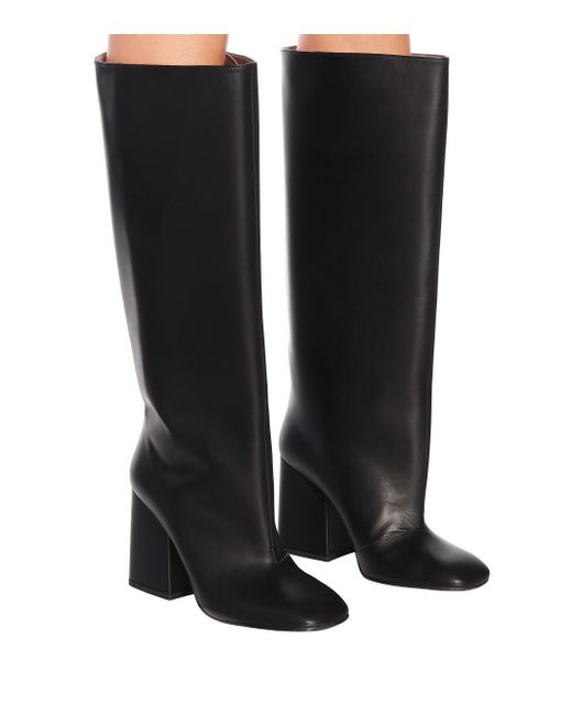 Marni Black Leather Boots