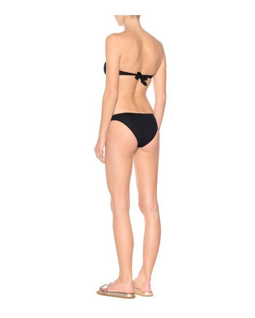 Melissa Odabash Women's Black Martinique Bikini Bottoms