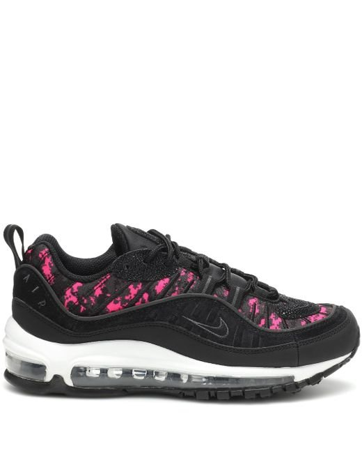 Nike Air Max 98 Premium Sneakers in BlackBlack (Black