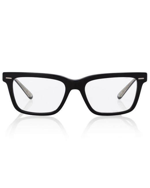 The Row Black X Oliver Peoples Ba Cc Acetate Glasses
