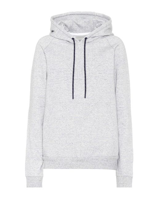LNDR Gray College Press Hoodie