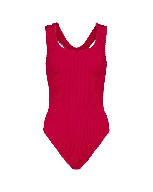Tropic of C Red Scorpio Swimsuit