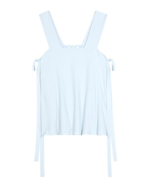 Helmut Lang - Blue Twill Top - Lyst