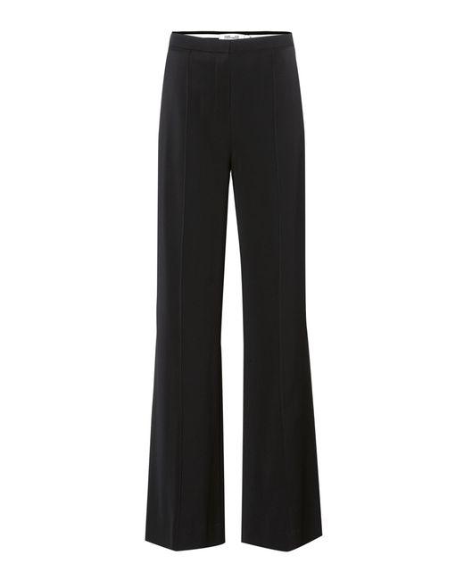 Diane von Furstenberg - Black High-waisted Trousers - Lyst
