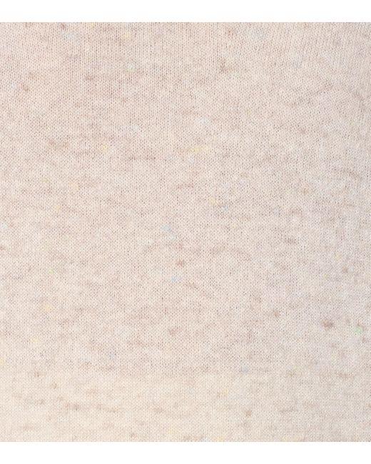 Agnona Multicolor Strickpullover aus Kaschmir