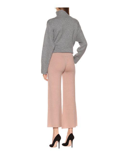 Pantalon en cachemire Ryan Roche en coloris Natural