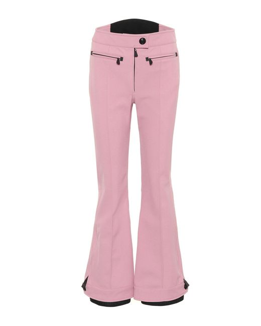 Moncler Grenoble | Pink Exclusive To Mytheresa. Com – High-rise Flared Ski Trousers | Lyst