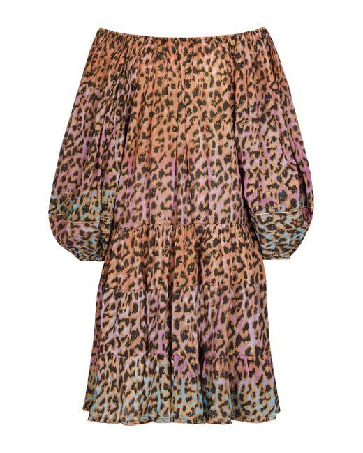Robe imprimée en coton Juliet Dunn en coloris Multicolor