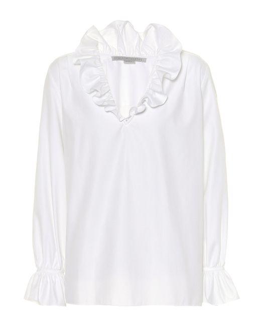 Top de algodón Mariana Stella McCartney de color White